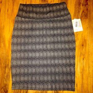 LulaRoe Cassie Pencil Skirt- Medium
